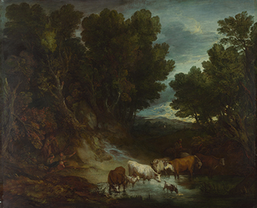 Thomas Gainsborough - The Watering Place1