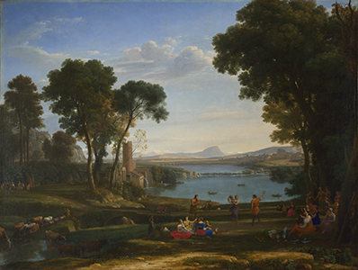 Claude - Landscape with the Marriage of Isaac and Rebecca1